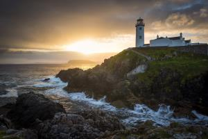 Fanad Head Lighthouse in county Donegal