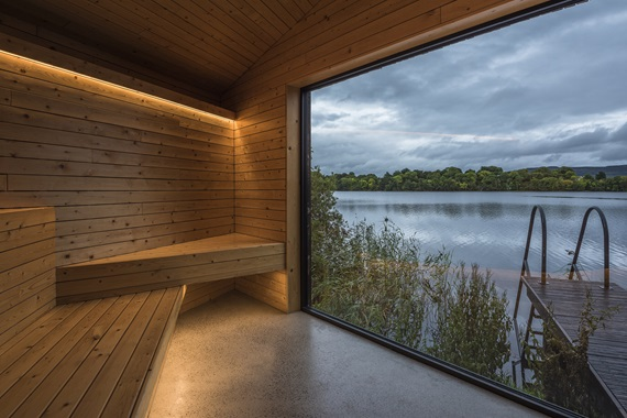 Finn Lough, Element Spa