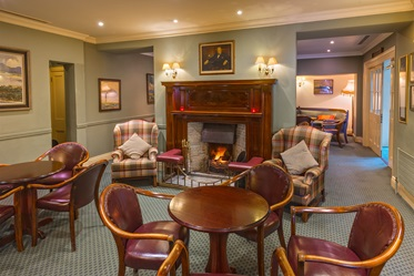 Lounge, Londonderry Arms Hotel, Carnlough