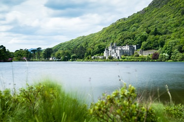 Kylemore Abbey, Clifden, Ierland