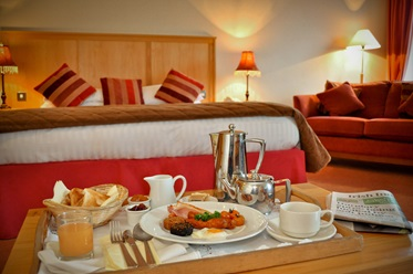 Roomservice, Clifden Station House Hotel