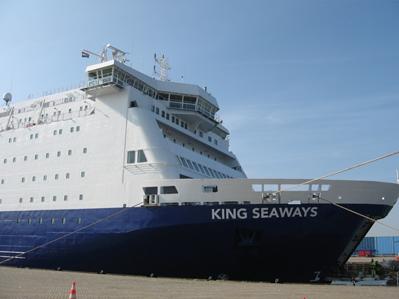 DFDS Cruiseferry IJmuiden - Newcastle v.v.