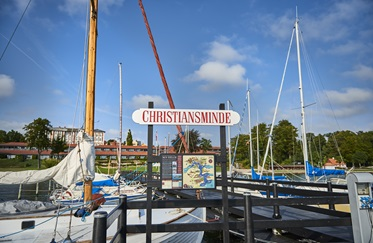 De haven van Christiansminde