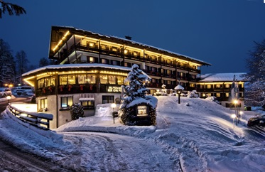 Alpenhotel Kronprinz in de winter