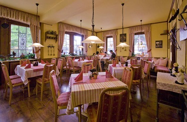 Restaurant, Hotel Rappen-Rothenburg