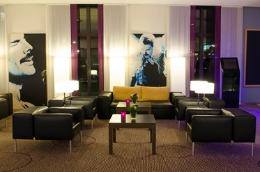 Lounge, Mercure Hotel Hamburg City