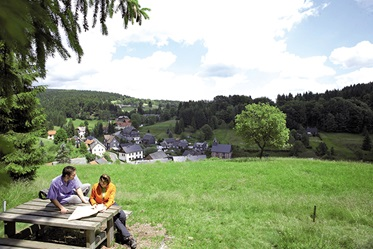 Picknicken in Thüringen