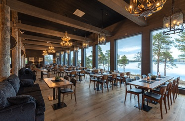 Restaurant, Wilderness Hotel Inari