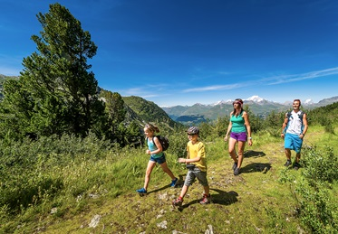 Wandelen, Camping Huttopia Bourg St. Maurice, Franse Alpen