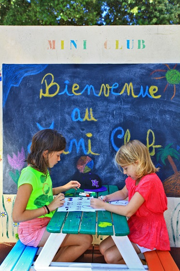 Miniclub, Camping Le Logis, Charente Maritime