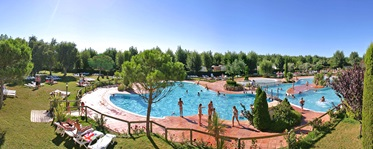 Zwembad, Camping le Serignan Plage, Languedoc-Roussillon