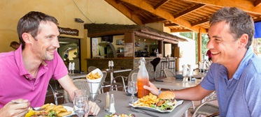 Restaurant, Camping Blue Bayou, Valras-Plage