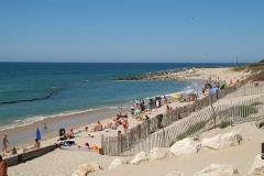 Camping le Soulac Plage, strand
