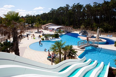 Zwembad, Camping le Soulac Plage, Soulac-sur-Mer