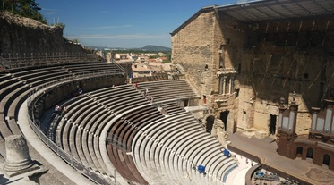 Romeins theater, Orange, Provence, Frankrijk