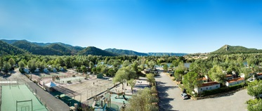 Camping l'Hippocampe, Volonne, Provence