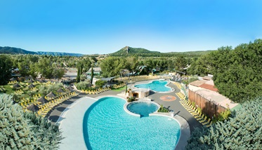 Zwembad, Camping l'Hippocampe, Volonne, Provence