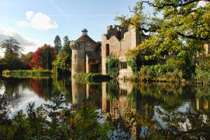 Scotney Castle, een 14 eeuws country house met romantische tuinen