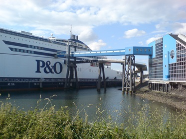 P&O Ferries, haven Europoort