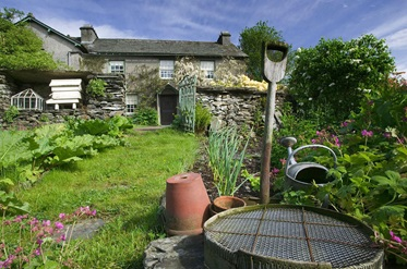 Het huis van Beatrix Potter in Lake District, Noord-Engeland