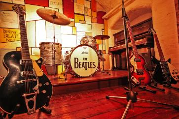 The Cavern Club Liverpool, hier begonnen de Beatles!