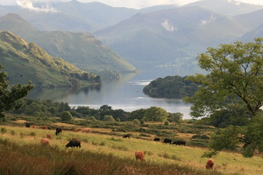Ullswater, Lake District, Groot-Brittannië