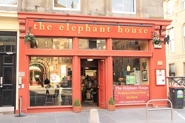 The Elephant House: hier schreef J.K. Rowling de Harry Potter boeken