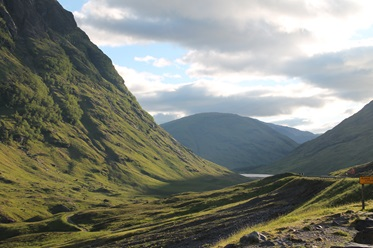 De legendarische Glen Coe, decor van vele filmsets!