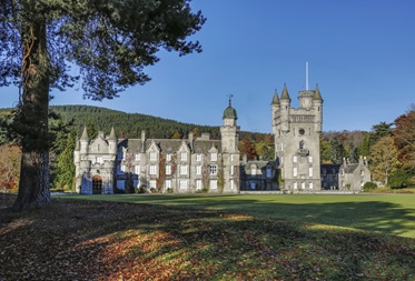 Balmoral Castle in de Royal Deeside, Schotland
