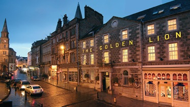 The Golden Lion Hotel, Stirling, Schotland
