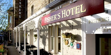 Fisher's Hotel Pitlochry, Schotland