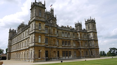 Highclere Castle, dé filmlocatie van de populaire serie Downton Abbey