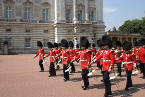 Changing of the Guards, Buckingham Palace