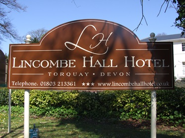 Lincombe Hall Hotel, Turquay, Zuidwest-Engeland, Groot Brittanie