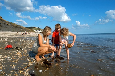 Groot-Brittannië, Zuid-West Engeland, Weymouth, Littlesea Holiday Village