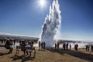 Strokkur, Golden Circle, IJsland