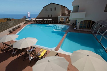 buitenzwembad, Hotel Tropis Wellness & Beauty, Calabria