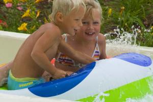 Waterpret op Camping Altomincio