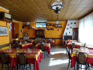 restaurant, Hotel La Capannina, Massino Visconti