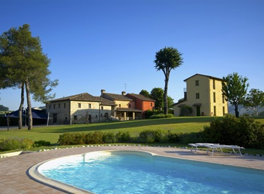 buitenzwembad, Country House Ca Virginia, Le Marche