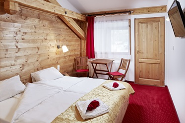 Tweepersoonskamer, Active Hotel Wildkogel, Wald in Pinzgau