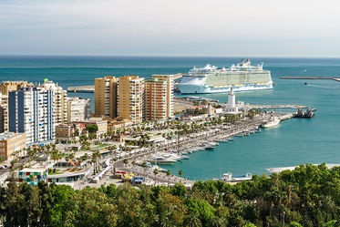 Cruisehaven, Malaga, Andalusië © Malaga City Tourism Board